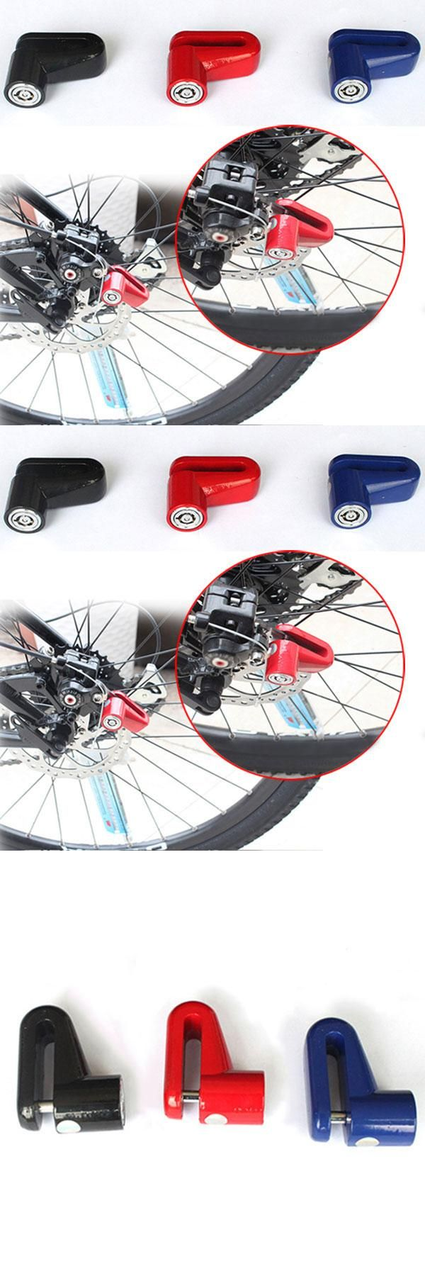 [Visit to Buy] Anti Theft Disk Disc Brake Rotor Safety Lock For Scooter Hoverboard Bike Bicycle Motorcycle  Shop ALS88 #Advertisement