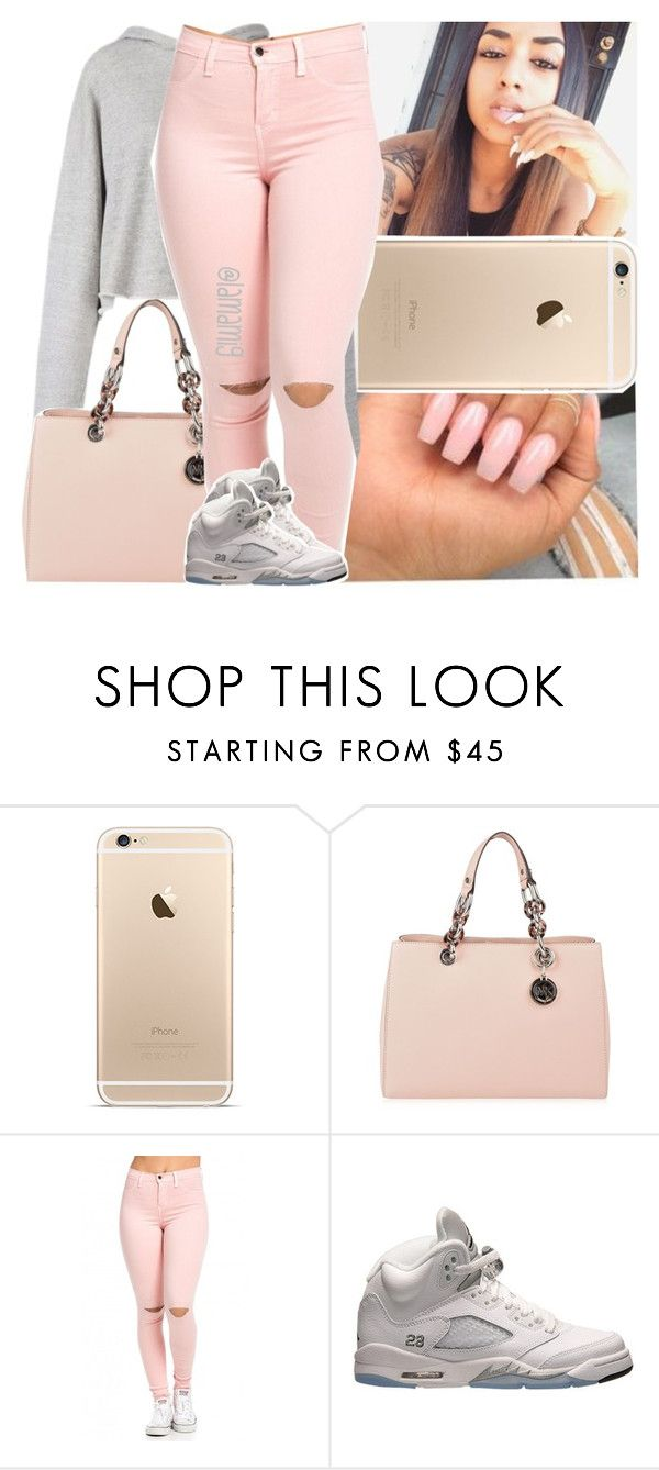 """i'm so proud of you~drake ft. nicki minaj"" by lamamig ❤ liked on Polyvore featuring Color Club, Faith Connexion, MICHAEL Michael Kors and Retrò"
