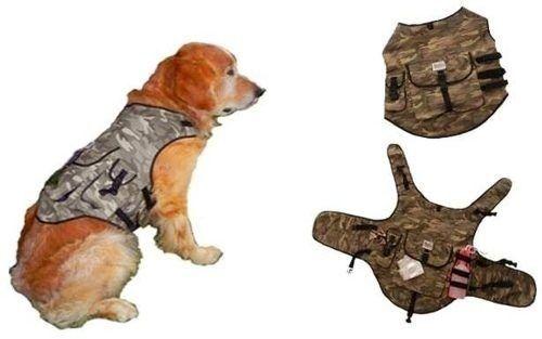 chaleco tipo mochila para perro - tallas desde 350 pesos