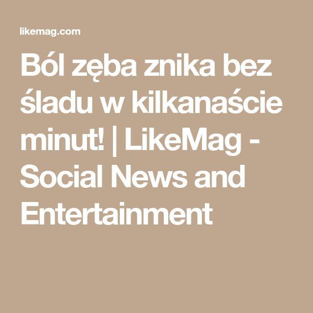 Ból zęba znika bez śladu w kilkanaście minut! | LikeMag - Social News and Entertainment