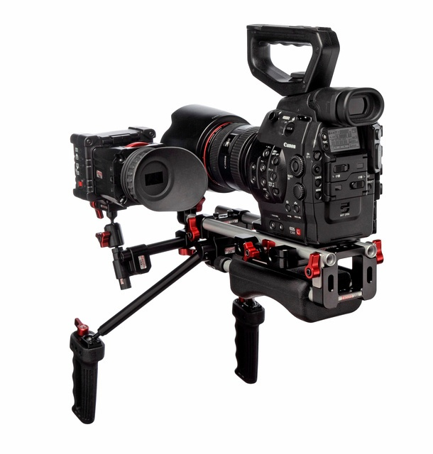 Canon C300 with Zacuto Recoil rig