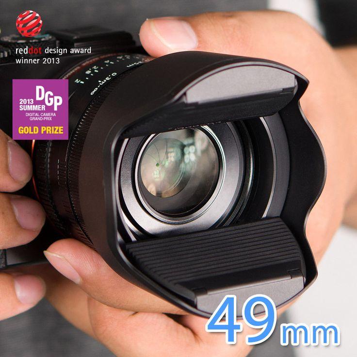 lens cap hood 49mm for Sony FE 55mm F1.8 ZA Carl Zeiss Sonnar T* 2013 DSLR SIZE | eBay