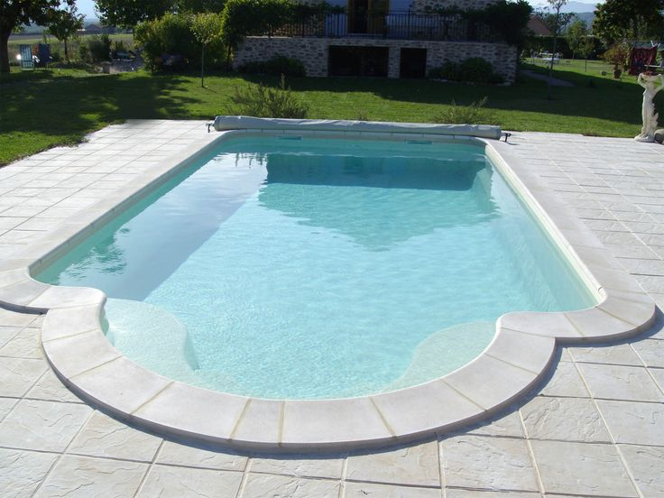 1000 id es sur le th me piscine coque sur pinterest for Piscine coque polyester grise