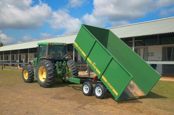 Off Road Farm Dump Trailer Made For The Heavy Duty Work Around The Ranch Or Farm Only 4 395 Dump Trailers Dump Trailers For Sale Trailers For Sale