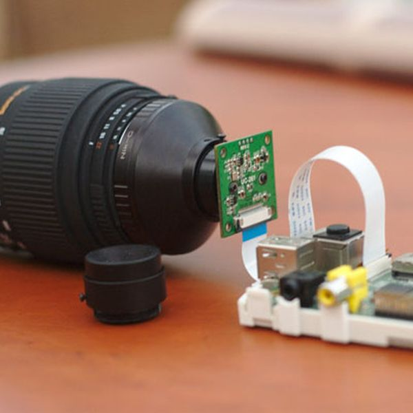 Hacking a Pi Camera with a Nikon Lens http://ift.tt/1F8eiGM