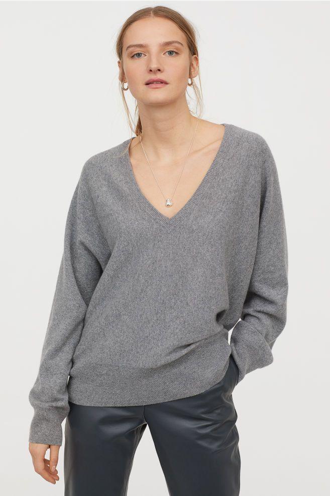 280d7b7c95d8d Fine-knit Cashmere Sweater in 2019 | 2019 | Cashmere sweaters ...