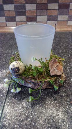 Teelichthalter Frühling / Tisch Dekoration