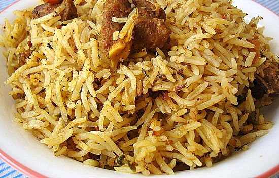 If I've been MIA, its because I am delighting myself with my 22 month old nephew (visiting India) and reliving Nehal's toddlerhood days. Busy fun days. Quick Mutton Biryani A quick special one pot...