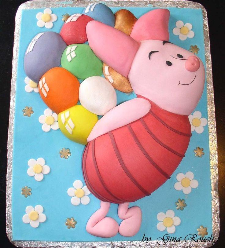 Winnie the Pooh, Piglet cake