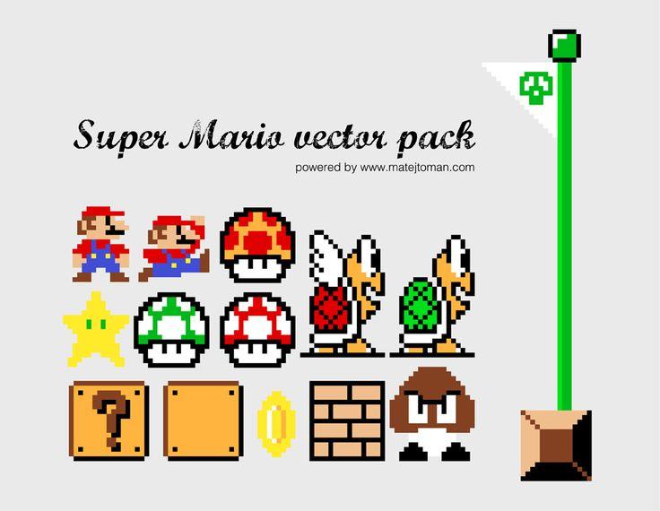 Super Mario Vector Pack   Vectorss Vectorss