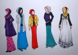 Hijab Fashion 1 #muslimah