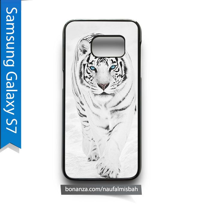 White Tiger Animal Samsung Galaxy S7 Case Cover