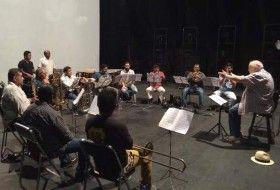 Metales y percusiones de la Sinfónica de Oaxaca en concierto