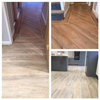 Elegant Country Oak Karndean Flooring Recently Supplied And Fitted By The Global  Flooring Team. Hallway U0026 Kitchen Done In The Same Product. This Shows How  Different ...