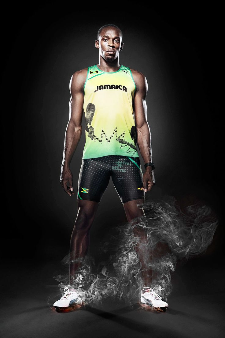 Usain Bolt on Behance