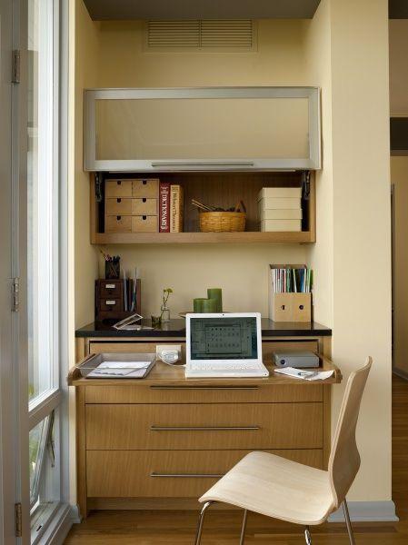 Как обустроить домашнее рабочее место