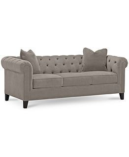 Rayna Fabric Sofa Living Room Furniture Sets & Pieces - Living Room Furniture - furniture - Macy's
