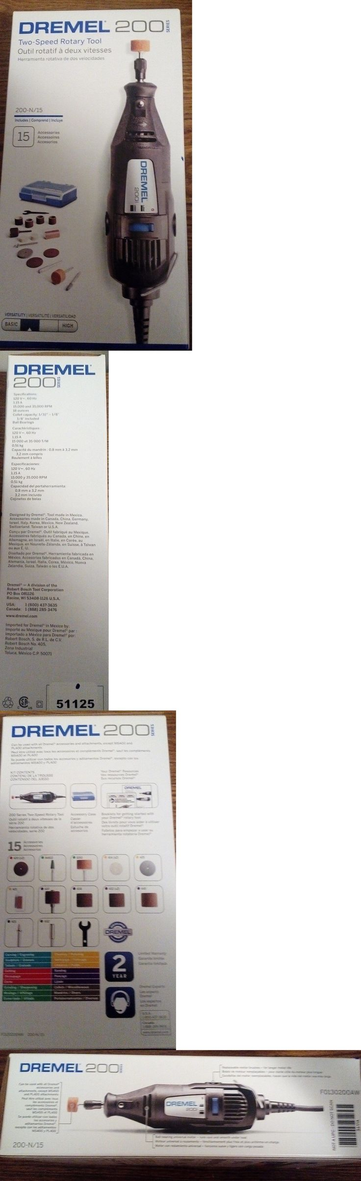 Rotary Tools and Accessories 34087: Dremel 200 Two-Speed Rotary Tool W 15 Pc Accessories -> BUY IT NOW ONLY: $31.99 on eBay!