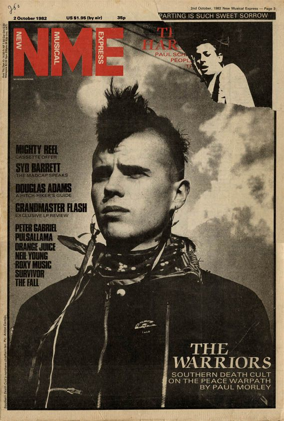 ON THE PEACE WARPATH, THE SOUTHERN DEATH CULT HAS A SCARY NAME BUT WAS VERY INSPIRATIONAL, IN THE EARLY 80S, THEY SPOKE OF EQUALITY OF ALL PEOPLE AND THE SPIRITUAL WORLDS OF THE INDIGENOUS CULTURES.