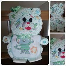 Decoración con pañales. Ideas para #babyshower #pañales #deco #regalos #regalo #bebe #bebes #premama #embarazada #embarazo