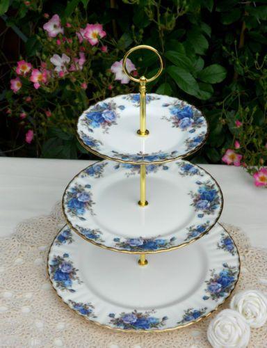 Vintage Royal Albert Moonlight Rose Tableware