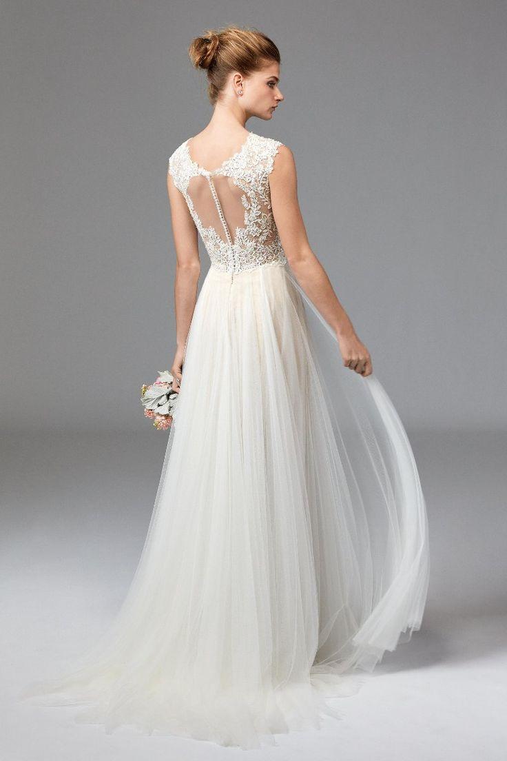 Brautkleider 2016 ~ Aufwendige Rücken-Ausschnitte und zarter Tüll ~ Watters Bride