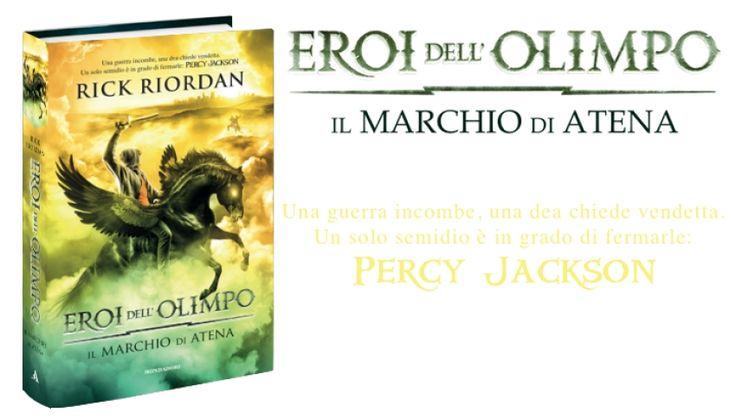 Gli eroi dell'Olimpo - Il marchio di Atena http://ow.ly/w950t #emultiverse via @E-Multiverse