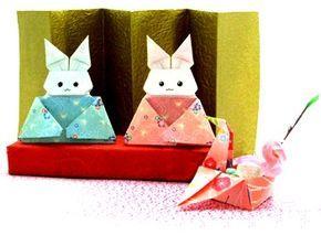 ウサギの雛人形