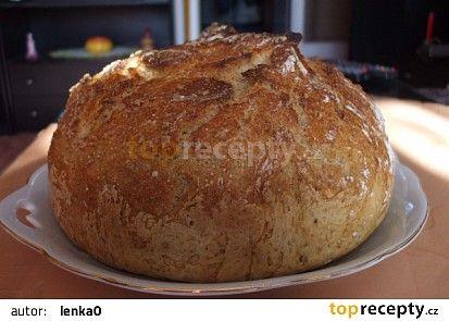 Domácí chlebík recept - TopRecepty.cz