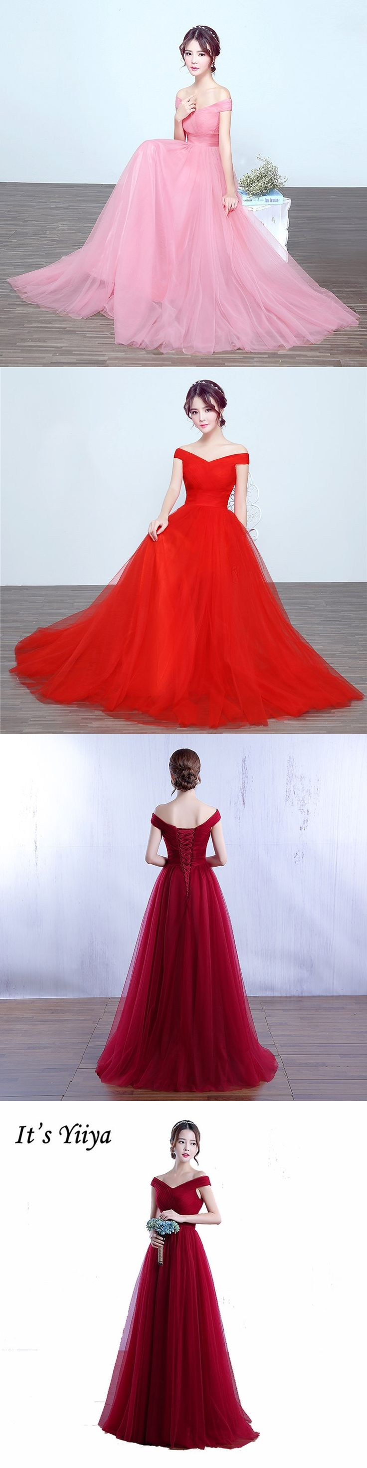 78 best wedding party dress images on pinterest its yiiya sleeveless red clare pink strapless formal dresses sex long customized bridesmaid gowns fashion frocks ombrellifo Choice Image