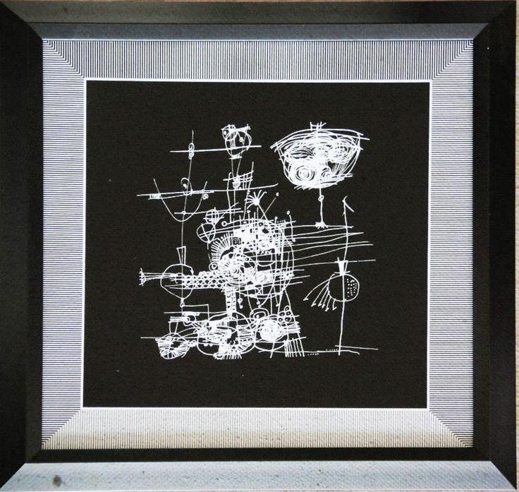 Cuadro Código Ch02-1 46 x 46 cm $8.000