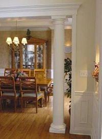 24 best images about basement ideas on pinterest for Decorative wood columns interior