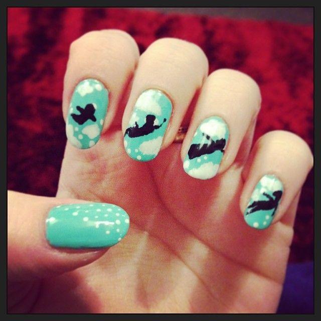Peter Pan Nails: Peter Pan Nails By Megs2606