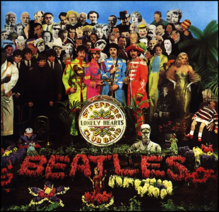 The most famous album cover of the 1960s. Maybe the most famous album cover ever. Released in 1967, Sgt. Pepper was a game changer for popular music.