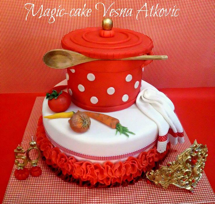 Pot cake 14 best Elegant Cakes images