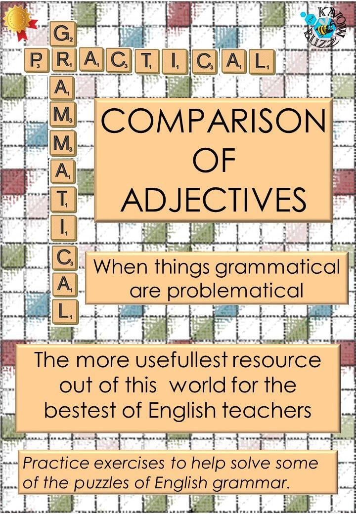 comparative vs superlative adjectives exercises pdf