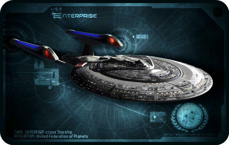 18k U S S  Enterprise NCC 1701 E