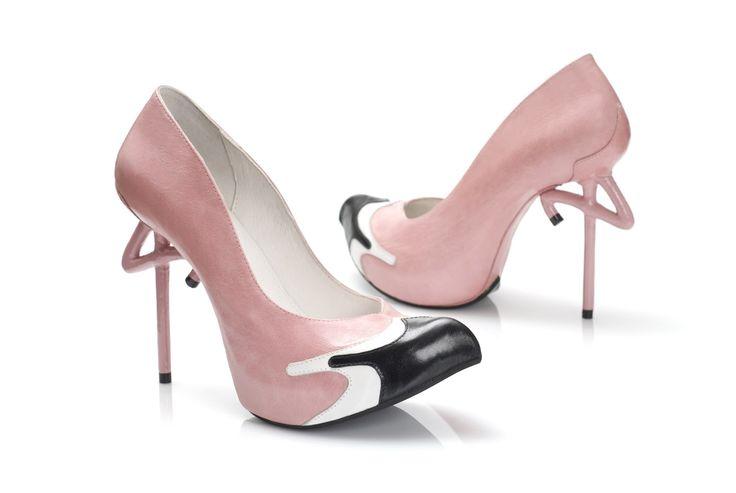 Flamingo by Kobi Levi - Footwear Design (UNUSUAL HAD TO PIN)