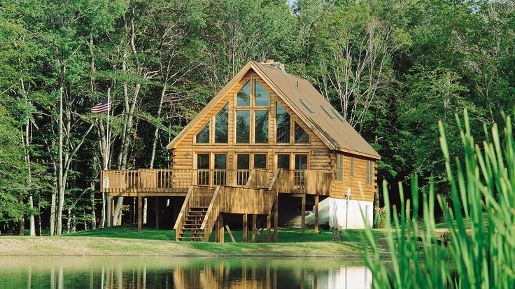 20 best images about cabin on pinterest house plans for Kit homes alaska