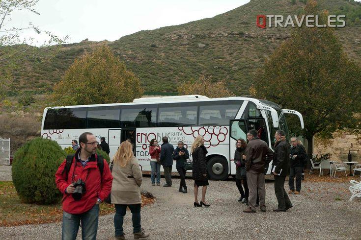 Enobús, rumbo a la feria del vino de Navaridas   QTRAVEL Portal de Viajes y Turismo - QTRAVEL Revista de Viajes