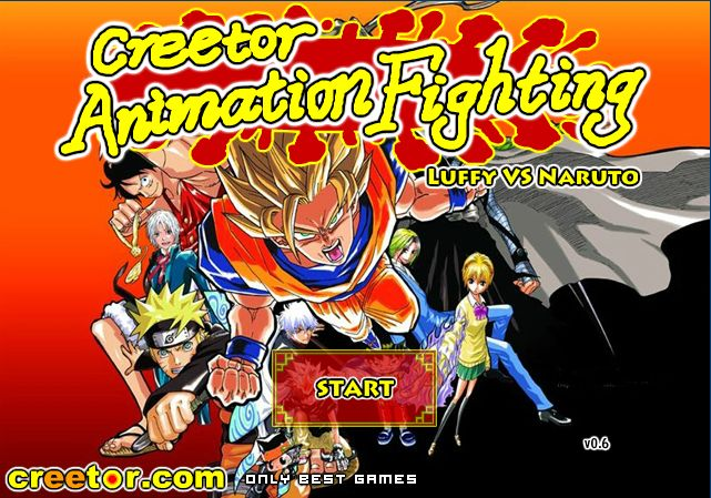 Best animation fighting game ever! Creetor Animation Fighting Luffy Vs Naruto