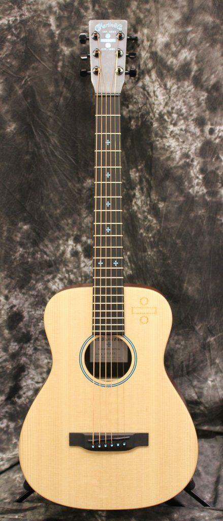 Martin Ed Sheeran 3 Divide ÷ Signature Edition Little Martin Acoustic-Electric Guitar Natural w/Gigbag