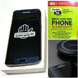"#9: Straight Talk Samsung galaxy S6 Edge 32GB ""Sapphire Black"" with wireless charging pad runs on AT&T's 4G LTE network via Straight Talk's 5GB unlimited plan"
