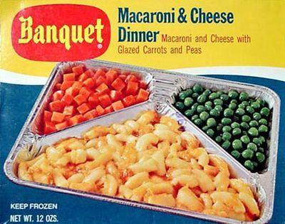 TV Dinner macaroni fromage