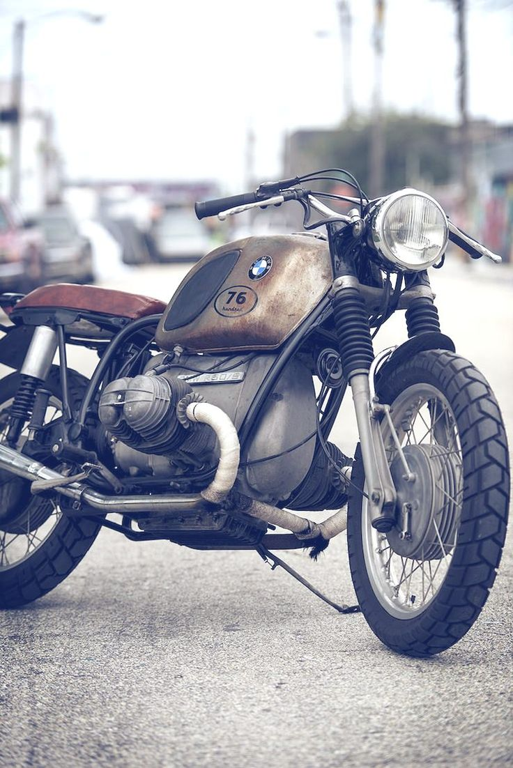 1971 BMW r60/5 (I wanted one sorta like this ever since I read Zen & the Art of Motorcycle Maintenance one college break.)