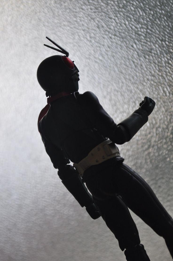 S.H. Figuarts Kamen Rider Ichigo Sakurajima version.