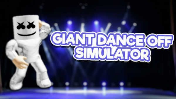 Giant Dance Off Simulator 2 Codes Roblox June 2020 Roblox