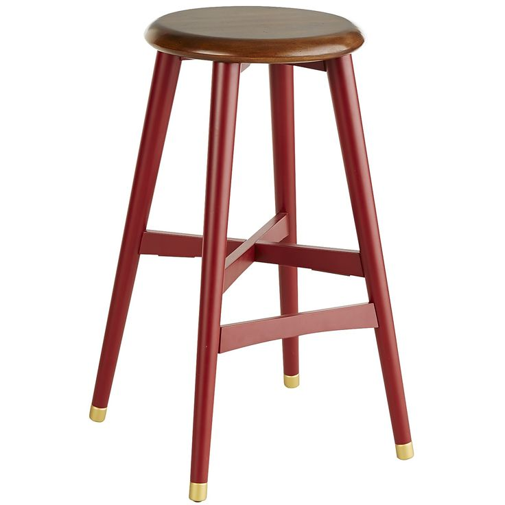 Cooper Red Bar Stool
