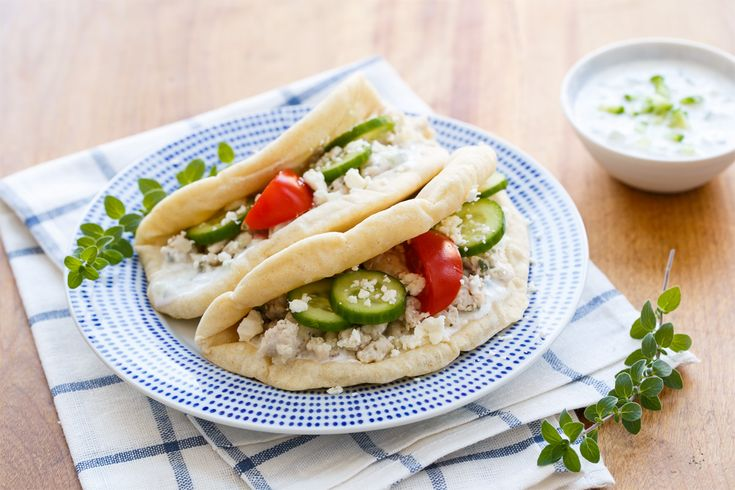 Use your KitchenAid® Food Grinder Attachment for your Stand Mixer to make these Greek Turkey Tacos from Lindsay of @loveandoliveoil on our blog. For more tips and techniques for using your Stand Mixer, be sure to check out the Stand Mixer Craftsy class (link is in the blog post).