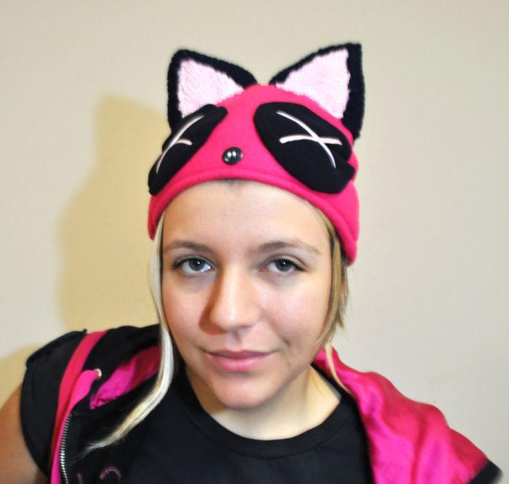 #berretto #orecchie #cap #ears #pink #cute #crafts #handmade